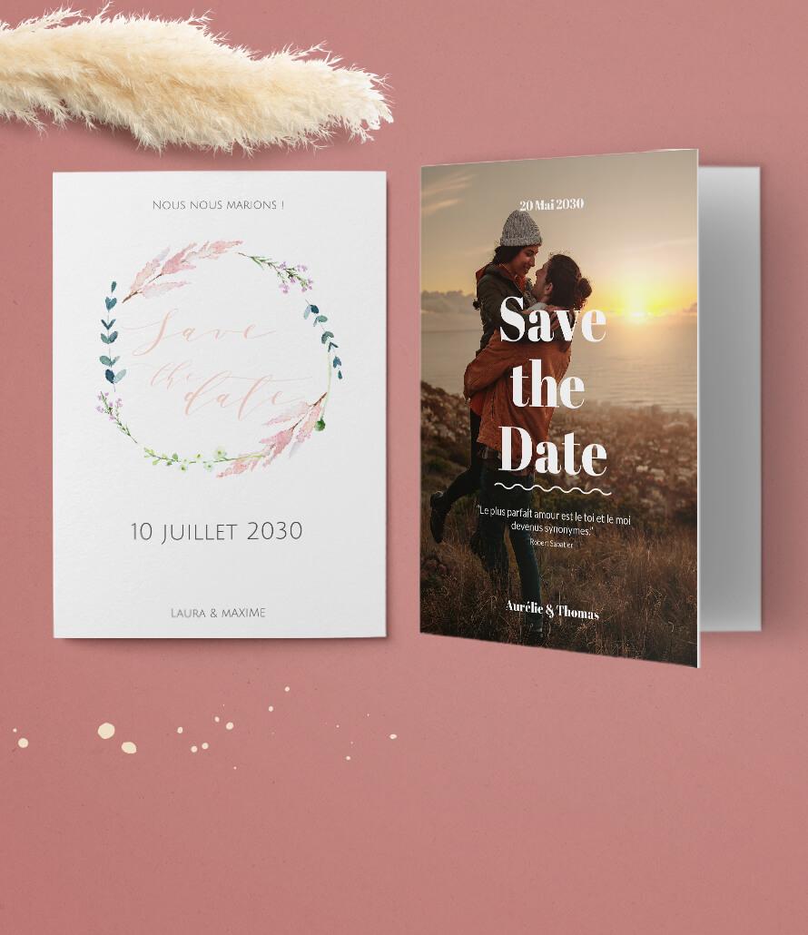 Cartes Mariage - Save The Date Karten