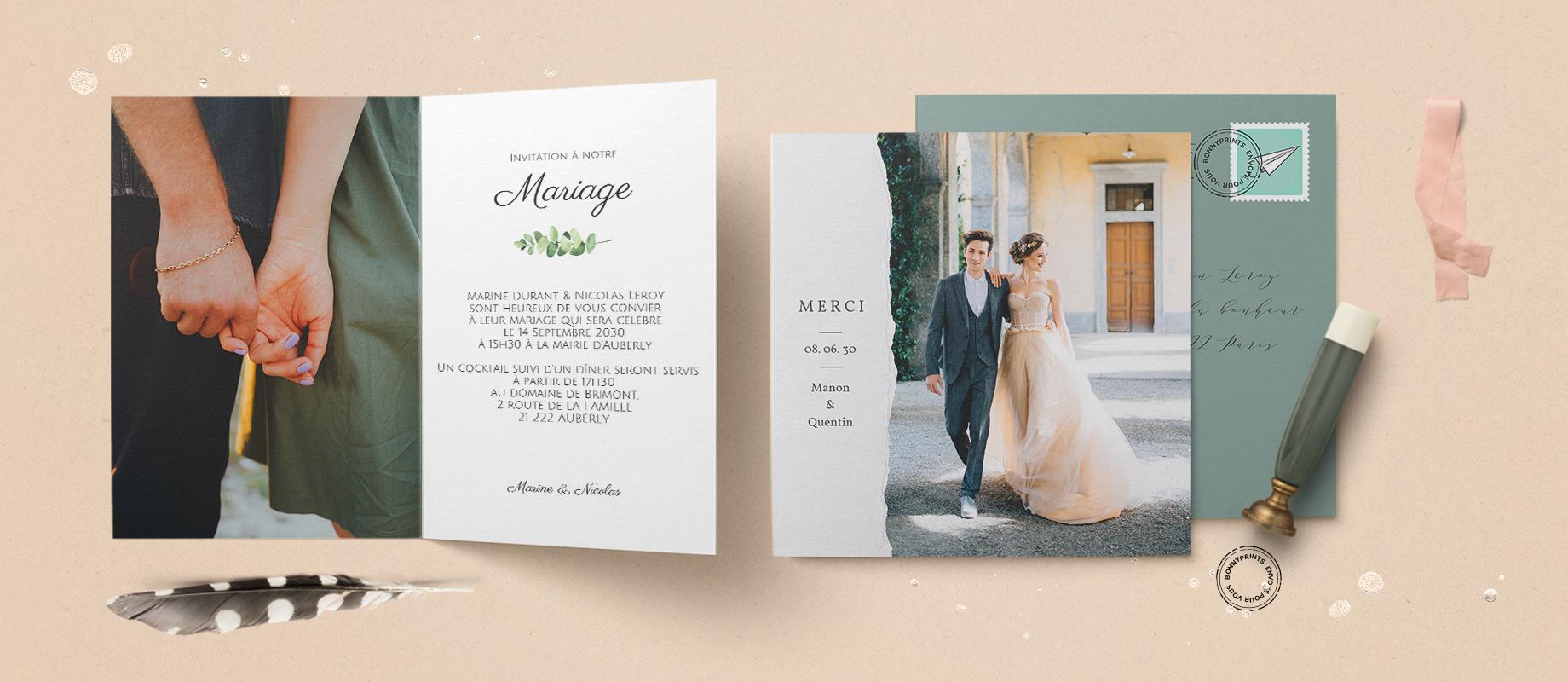 Cartes Mariages - Envoyé pour vous